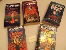 V C Andrews CUTLER series complete paperback 5 books Dawn