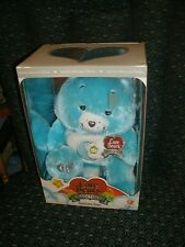 MIB SPECIAL COLLECTOR EDITION CARE BEARS BED TIME BEAR  SWAROVSKI  CRYSTAL EYES