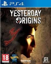 Yesterday Origins  | PS4 VF NEUF SOUS BLISTER