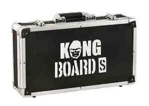 KONG BOARD S Pedalboard Case Pedal Flightcase Effektpedale   Neu