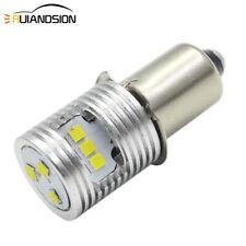 P13.5S 3V 4.5V 6V - 24V 1616 10W LED Upgrade Bulb Flashlight Torches Work White