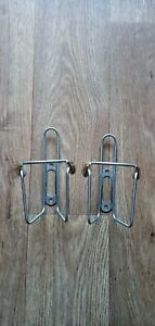 Vintage Elite Stainless Water Bottle Cages.