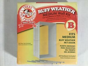 """IDEAL PET PRODUCTS RUFF-WEATHER WALL KIT MEDIUM for (4.75""""x7.25"""") Walls"""