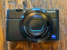 Sony DSC-RX100 Cyber-shot 20.2MP Digital Camera - Black