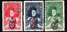 10.65.TURKEY 1917 SC.541 C,D,E. SULTAN MOHAMMED V