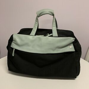 Radley London Black & Green Weekend Cabin Bag Hand Luggage Travel Suitcase