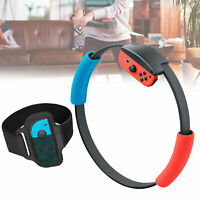 For Nintendo Switch Ring Fit Adventure Fitness Exercise Ring + Sport Leg Strap