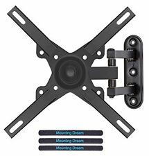 "Wall Mount Bracket Support w/ Tilt Swivel Articulating Arm For 26-39"" TV Monitor"
