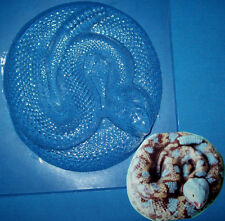 ONE LARGE SNAKE CHOCOLATE MOULD OR PLASTER MOULD