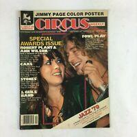 February 6,1979 Circus Magazine Jazz '79 Fowl Play Robert Plant & Ann Wilson