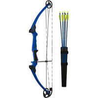Genesis Archery 10926 Original Blue Compound Training Bow Kit, Right Handed