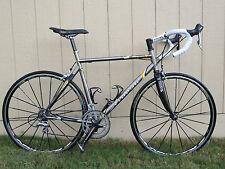 Airborne Manhattan Project Titanium Road Bike Dura Ace Mavic Carbon Fork & Stays