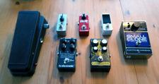 Effektpedale Effektgeräte Set E-Gitarre (Tuner Distortion Wah Chorus Reverb ...)