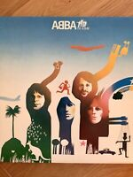ABBA The Album UK 1st press vinyl LP in gatefold Epic EPC 86052 1977 Nr Mint