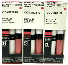 (3) Covergirl Outlast All-Day Lipcolor Moisturizing Top Coat 920 - Medium Cool