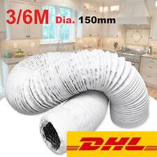 150mm Abluftschlauch Schlauch PVC Flexibel für Mobil Klimaanlagen Klimagerät DHL