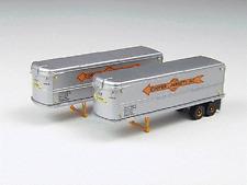 N Mini Metals 51106 * Cooper-Jarrett - 32' Aerovan Trailer Set (2) * NIB