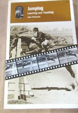 Jumping Learning and Teaching Jean Froissard Horseback riding Equestrian 1975