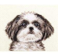SHIH TZU dog puppy - Full counted cross stitch kit, all materials *Fido Studio