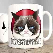 Grumpy Cat   This Is My Happy Face - Mug