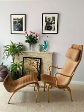 Milieu BRUNO MATHSSON PERNILLA 2 salon fauteuil et Pernilla 69 Ottoman Set