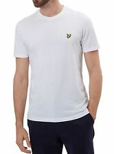 Bianco X-large Lyle & Scott Crew Neck T-shirt Uomo Abbigliamento