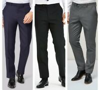 """Men`s New Wool Blend Formal Suit Trousers Regular Fit Waist Sizes 32"""" to 44"""""""