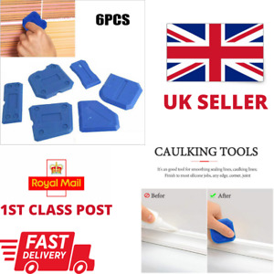 Replacement Fugi 6 Piece Grouting Silicone Profiling Applicator Hand Tool Kit UK