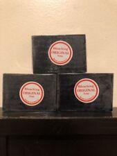 3 x Original Black Licorice Skin Whitening Lightening Bleaching Soap. Usa Seller