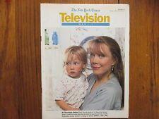 May-1994 NY Times TV Mag(SISSY SPACEK/LESLIE ANDERSON/DANICA McKELLAR/DIANE LANE