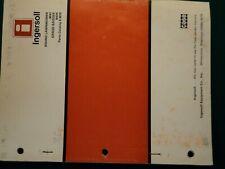 Ingersoll 80Xi Riding Mower Parts Manual