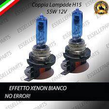 LAMPADE LAMPADINE BLU H15 EFFETTO XENON FORD FOCUS MK3 55W 12V