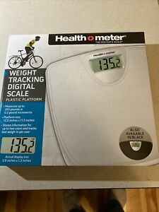 New Weight Tracking Digital Scale - White - New in box