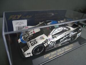 FLY A-103 LIKE SCALEXTRIC LISTER STORM 24HR LE MANS 1996 NEWCASTLE UNITED/ADIDAS