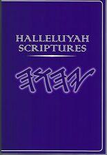 HALLELUYAH SCRIPTURES - RESTORED NAMES BIBLE - YHWH Paleo Hebrew