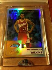 2005 eTopps Classic Dominique Wilkins Refractor Card #22 In Hand Sealed 1 of 635