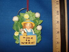 Garden Ornament Plaque Time To Weed 74396 47