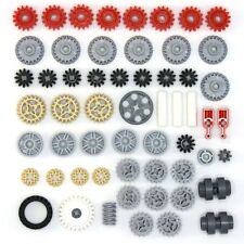 Lego Technic - Gears Cogs Wheels Worms Clutch Pulley - 57 Parts - NEW