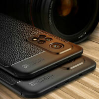 For Xiaomi Mi 10T Pro /10T Lite 5G Shockproof Rubber Slim TPU Leather Case Cover