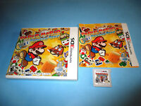 Paper Mario Sticker Star (Nintendo 3DS) XL 2DS Game w/Case & Manual