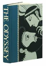 THE ODYSSEY ~ HOMER ~ FOLIO SOCIETY ~ SLIPCASED GIFT EDITION ~ ILLUSTRATED ~ HC