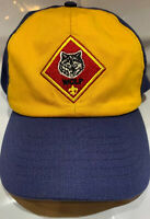 Boy Scout Wolf Hat Cap BSA Youth Adjustable S/M