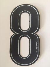 Numeri Adesivi Moto - 8 Nero