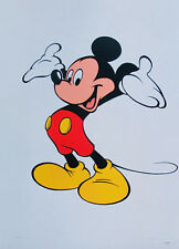 WALT DISNEY MICKEY MOUSE PRESENTS Limited Edition Serigraph Animation Art