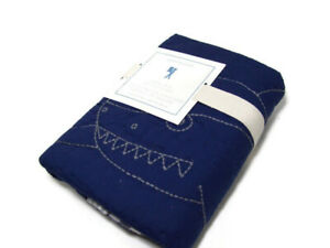 Pottery Barn Kids Multi Colors Shark Bite Quilted Standard Pillow Cover Sham New