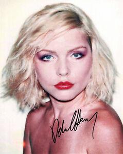 Original Signed Photo of Debbie Harry 10x8 + COA