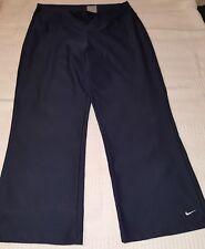Nike fit dry yoga pants exercise navy workout size Xs 0-2 elastic waist 28X22