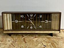 Vintage Retro Rhythm Japan 2 Jewel Music Alarm Clock. Model 51030 VGC