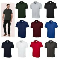 Uneek Clothing New UX1 Polo Shirt 180GSM Top Quality Low Price Workwear Unisex