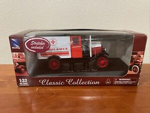 1924 Chevy 1-ton Series H Truck, NewRay Classic Collection Ambulance 1:32